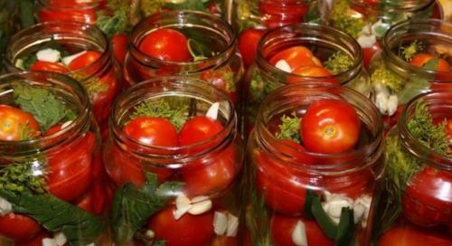 Розовые помидоры рецепты на зиму. Лучшие рецепты консервации розовых помидоров на зиму