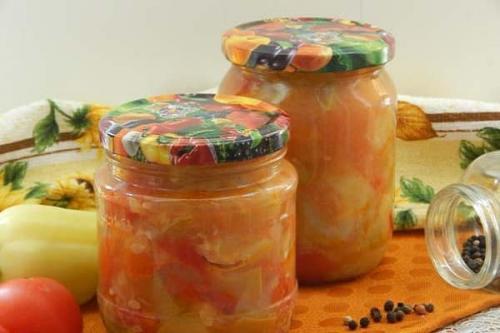 Рагу овощное на зиму заготовки. 15 пошаговых рецептов овощного рагу на зиму со стерилизацией и без